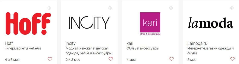 Список магазинов партнеров Совкомбанка